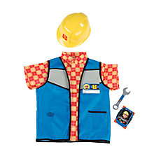 Buy Bob The Builder Smoby Safety Set Costume Online at johnlewis.com