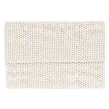 Buy Coast Fern Beaded Clutch Bag, Ivory Online at johnlewis.com