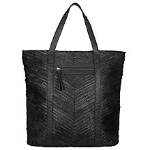 Buy Pieces Piper Large Leather Tote Bag Online at johnlewis.com