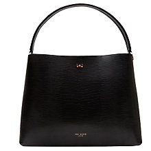 Buy Ted Baker Peny Leather Top Handle Tote Bag Online at johnlewis.com