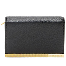 Buy Ted Baker Lani Leather Coin Purse, Black Online at johnlewis.com