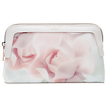 Buy Ted Baker Amallia Rose  Makeup Bag, Nude Pink Online at johnlewis.com