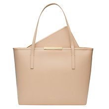 Buy Ted Baker Kaci Large Leather Shopper Bag Online at johnlewis.com
