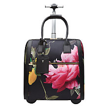 Buy Ted Baker Katena Citrus Travel Bag, Black Online at johnlewis.com