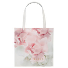 Buy Ted Baker Kitacon Small Shopper Bag, Nude Pink Online at johnlewis.com