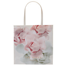 Buy Ted Baker Kyracon Rose Large Shopper Bag, Nude Pink Online at johnlewis.com