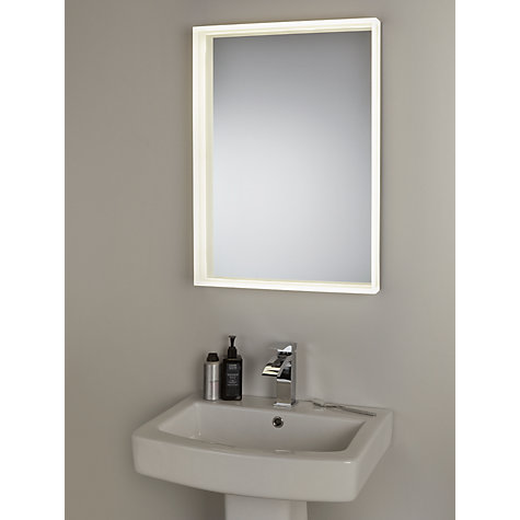buy john lewis led prism illuminated bathroom mirror. Black Bedroom Furniture Sets. Home Design Ideas