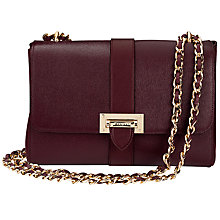 Buy Aspinal of London Lottie Leather Large Across Body Bag Online at johnlewis.com