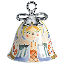 Buy Alessi 'Holy Family' Mary Christmas Bell Decoration Online at johnlewis.com