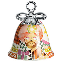 Buy Alessi 'Holy Family' Caspar Christmas Bell Decoration Online at johnlewis.com