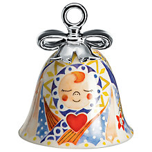Buy Alessi 'Holy Family' Jesus Christmas Bell Decoration Online at johnlewis.com