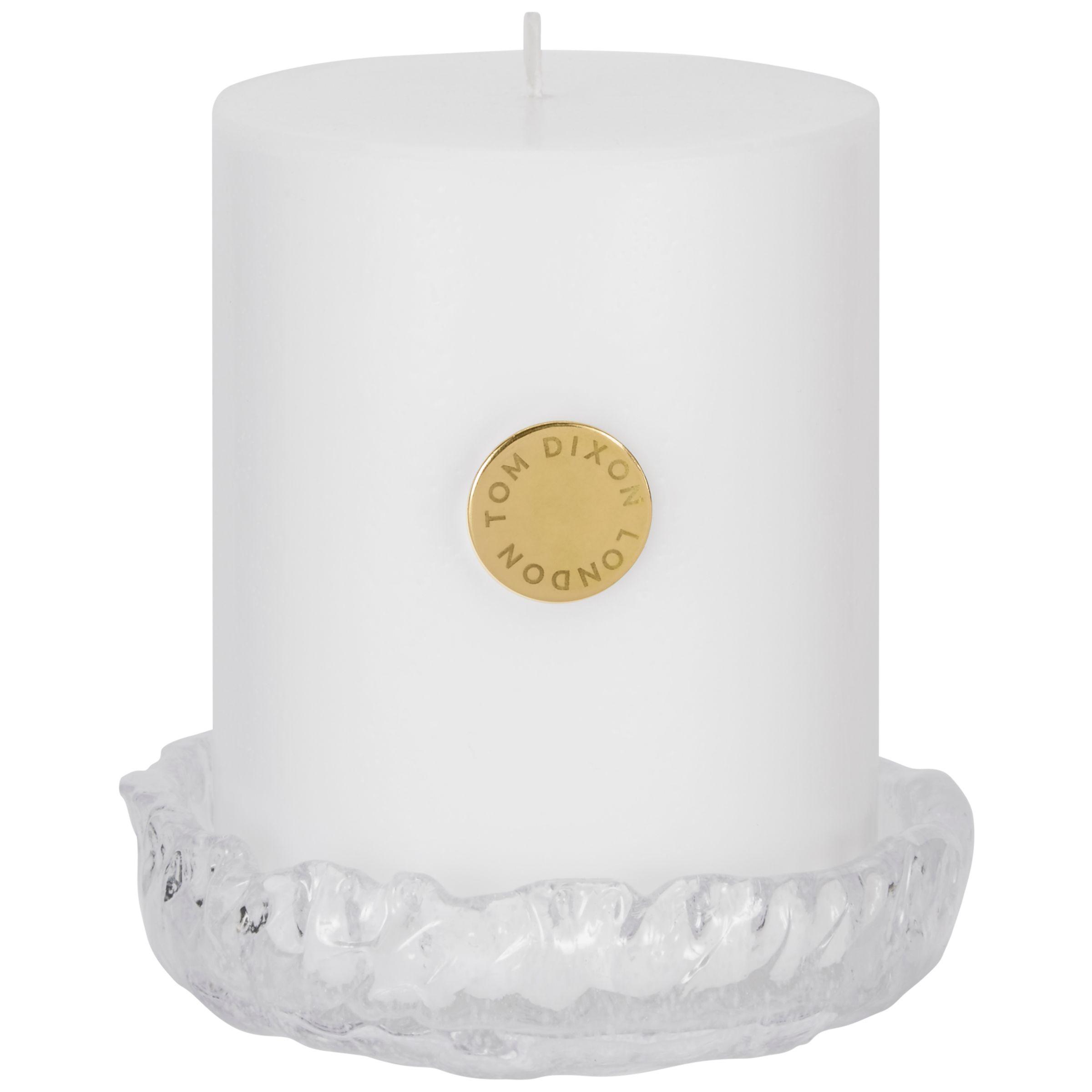 Tom Dixon Tom Dixon Quartx Scented Pillar Candle