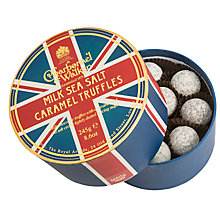 Buy Charbonnel et Walker Union Jack Milk Seasalt Caramel Truffles, Box of 12, 120g Online at johnlewis.com