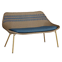 Buy John Lewis Dakara (Fusion) Havana 2 Seater Sofa, Brown / Blue Online at johnlewis.com