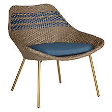 Buy John Lewis Dakara (Fusion) Havana Lounging Armchair, Brown / Blue Online at johnlewis.com