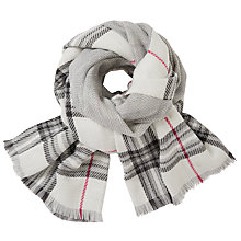 Buy John Lewis Cashmink Double Faced Wrap, Cream Mix Online at johnlewis.com