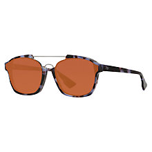 Buy Christian Dior Diorabstract Rectangular Sunglasses Online at johnlewis.com