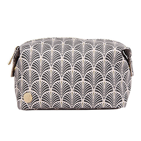 Buy Mi-Pac Gold Art Deco Wash Bag, Blush Online at johnlewis.com