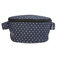 Buy Mi-Pac Denim Spot Bumbag, Indigo / White Online at johnlewis.com