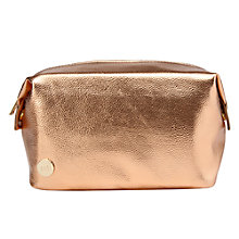 Buy Mi-Pac Gold Metallic Wash Bag, Rose Gold Online at johnlewis.com