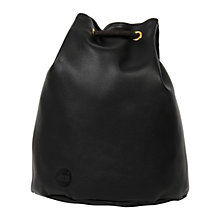 Buy Mi-Pac Gold Tumbled Swing Backpack, Black Online at johnlewis.com