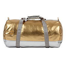 Buy Mi-Pac Gold 24k Duffel Bag, Gold / Silver Online at johnlewis.com