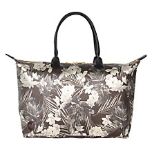 Buy Mi-Pac Gold Tropical Metallic Weekender Bag, Black Online at johnlewis.com