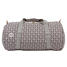 Buy Mi-Pac Gold Art Deco Duffel Bag, Blush Online at johnlewis.com