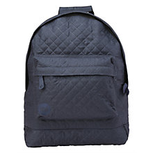 Buy Mi-Pac Quilted Backpack, Navy Online at johnlewis.com