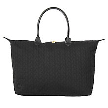 Buy Mi-Pac Jersey Rope Weekender Bag, Black Online at johnlewis.com