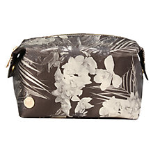 Buy Mi-Pac Gold Tropical Metallic Wash Bag, Black Online at johnlewis.com