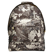 Buy Mi-Pac Gold Tropical Metallic Backpack, Black Online at johnlewis.com