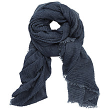 Buy Numph Clarissa Scarf, Dress Blue Online at johnlewis.com
