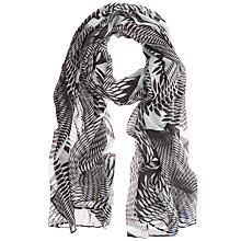 Buy Mint Velvet Mara Print Scarf. Multi Online at johnlewis.com
