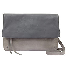 Buy Mint Velvet Madison Cross Body Bag, Silver Online at johnlewis.com