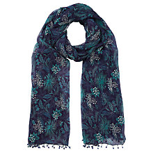 Buy East Anokhi Jade Scarf, Teal Online at johnlewis.com