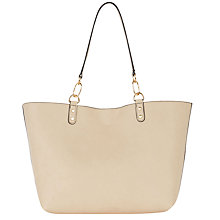 Buy Oasis Rhea Reversible Tote Bag, Multi/Natural Online at johnlewis.com