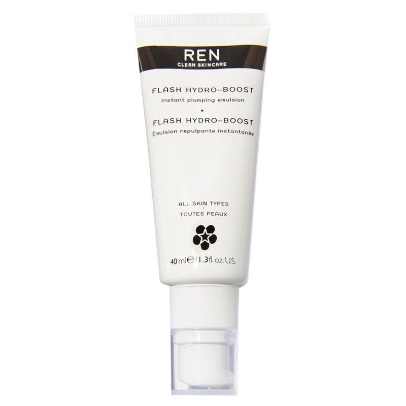 REN REN Flash Hydro-Boost Instant Plumping Emulsion Facial Treatment, 40ml