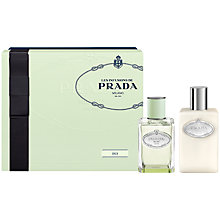Buy Prada Les Infusions de Prada Iris 50ml Eau de Parfum Fragrance Gift Set Online at johnlewis.com