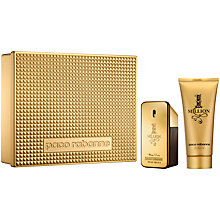 Buy Paco Rabanne 1 Million 50ml Eau de Toilette Fragrance Gift Set Online at johnlewis.com