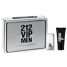 Buy Carolina Herrera 212 VIP Men's 50ml Eau de Toilette Fragrance Gift Set Online at johnlewis.com