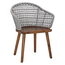 Buy Design Project by John Lewis No.096 Dining Armchair, FSC-Certified (Acacia) Online at johnlewis.com