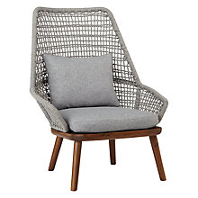 Buy Design Project by John Lewis No.096 Lounging Armchair, FSC-Certified (Acacia) Online at johnlewis.com