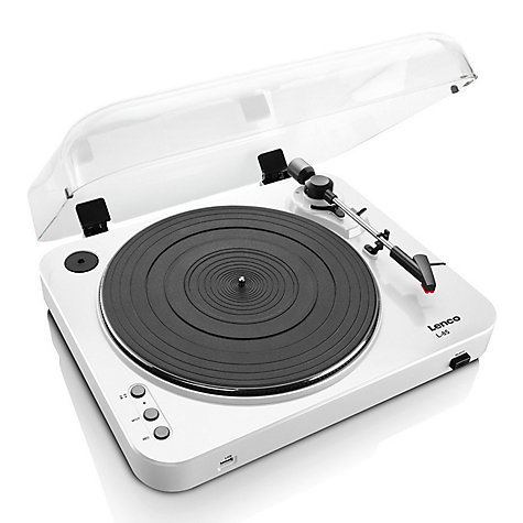 Buy Lenco L-85 USB Two Speed Turntable With Direct MP3 Recording Online at johnlewis.com