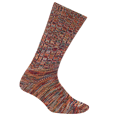 John Lewis Yamato Stripe Socks, One Size