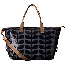 Buy Orla Kiely Stem Print Holdall, Midnight Online at johnlewis.com
