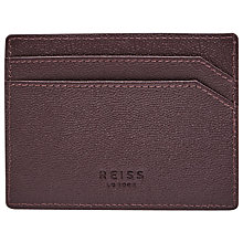 Buy Reiss Jacob Grained Leather Card Holder Online at johnlewis.com