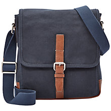 Buy Fossil Davis NS City Cotton Bag Online at johnlewis.com