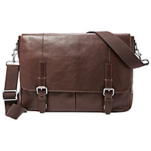 Buy Fossil Graham Cotton Messenger Bag Online at johnlewis.com