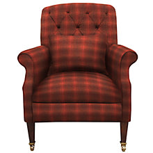 Buy Harris Tweed Flynn Armchair, Dark Leg Online at johnlewis.com